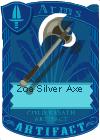 Zoa Silver Axe