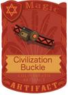 Civilization Buckle