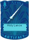 Holy Lance (Dragon Horns)
