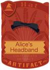 Alice's Headband