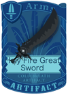 Holy Fear Great Sword