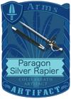 Paragon Silver Rapier