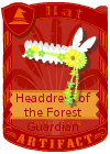 Headdress of the Forest Guardian Male