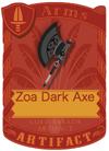 Zoa Dark Axe