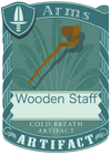 Wooden Staff 2