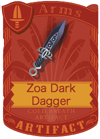 Zoa Dark Dagger