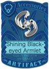 Shining Black-eyed Armlet