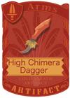 High Chimera Dagger