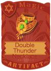 Double Thunder Necklace