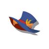 Orange Cat Silk Hat