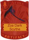 Zoa Dark Scythe