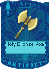 Holy Bronze Axe