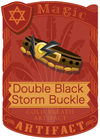 Double Black Storm Buckle