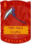 High Aqua Scythe