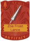 Zoa Frost Lance