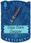 Giga Dark Dagger