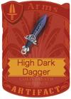 High Dark Dagger
