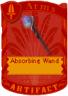 Absorbing Wand