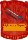 High Aqua Rapier