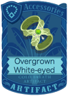 Overgrown White-eyed Armlet