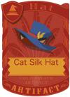 Cat Silk Hat