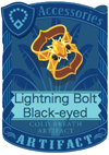 Lightning Bolt Black-eyed Armlet