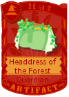 Headdress of the Forest Guardian Female