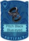 Pitch Black Blue-eyed Armlet