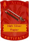 High Silver Rapier
