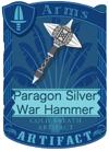 Paragon Silver War Hammer