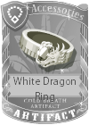 White Dragon Ring