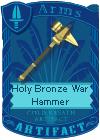 Holy Bronze War Hammer