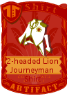 2-Headed Lion Journeyman Shirt