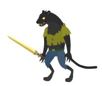Black War Panther