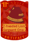 2-headed Lion Sergeant One-Piece