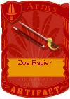 Zoa Rapier