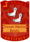 Chosen warrior boots goddess