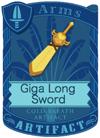 Giga Long Sword Yellow