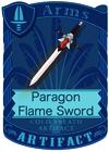 Paragon Flame Sword