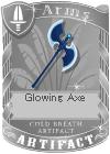 Glowing Axe