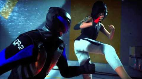 Gameplay of Mirror's Edge Catalyst - Combat