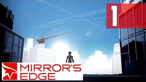 Mirror's Edge - Training Area Walkthrough PC PhysX HD