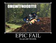 Lol failed