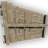 Wood ramp wall 2m 3m 1m 48