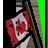 Flagpole canada 48