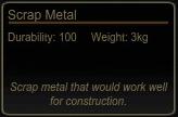 Scrap Metal Tooltip