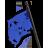 Flagpole blue 48
