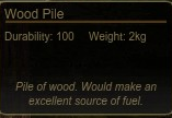 Wood Pile Tooltip