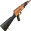 Akm painted orange 2048