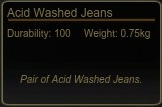 Acid Washed Jeans Tooltip